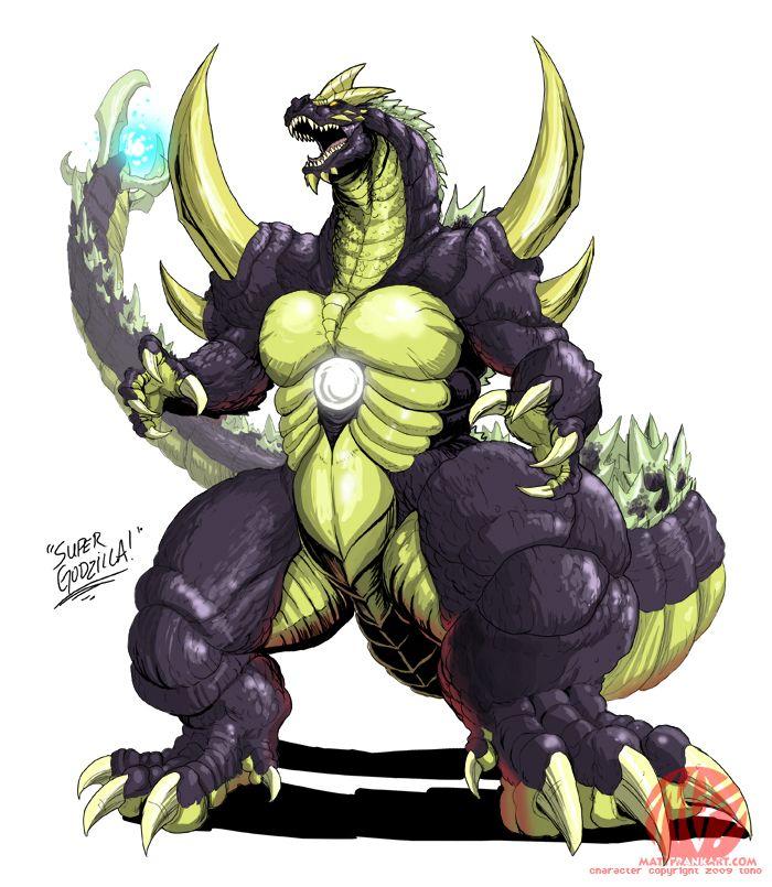 •Godzilla Neo - SUPER GODZILLA by KaijuSamurai