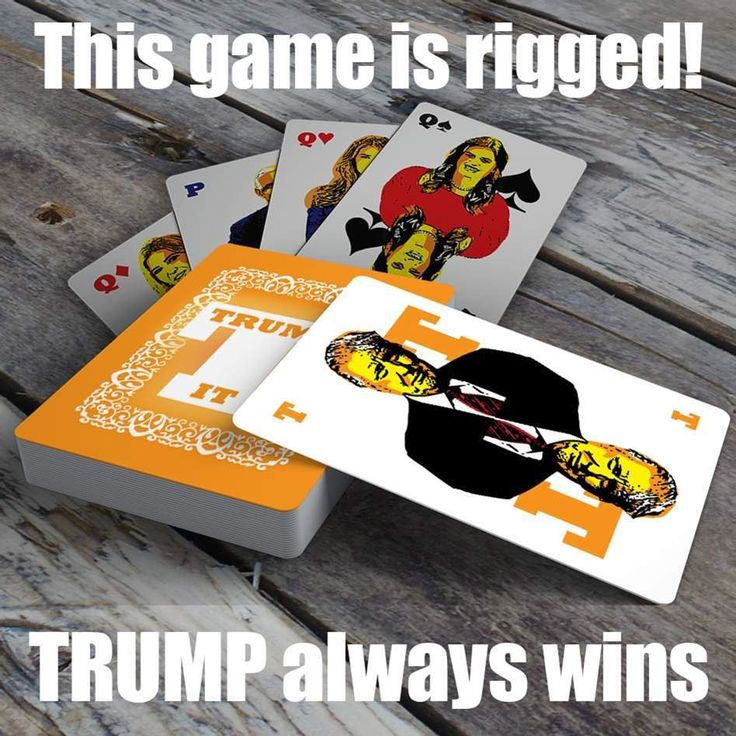 """Trump your friends and family this Christmas with my new game """"Trump It""""! The awesome game of TRUMP for 3-6 players! If you like to play Spades Hearts or Rummy order my new game right away to get it before Christmas! You'll have hours of fun Trumping the family! Link in profile. #cardgame #Trump #christmasgift #politicalart #artistsoninstagram"""