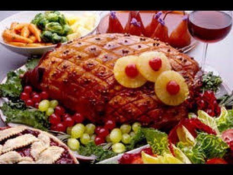 Receta para preparar jamón glaseado para navidad. Receta de jamón al horno