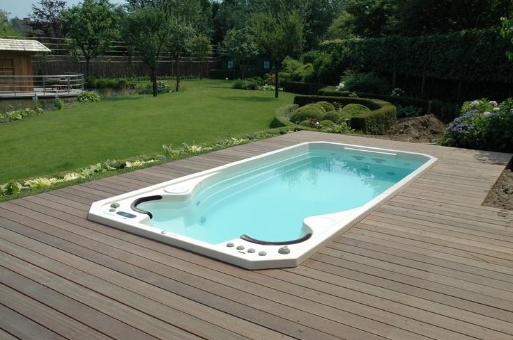 15 best spas de nage acryliques clair azur images on. Black Bedroom Furniture Sets. Home Design Ideas