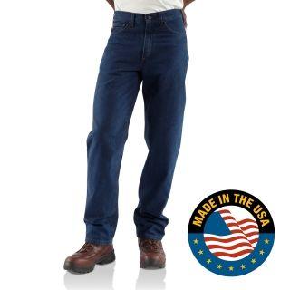 Carhartt FRB100 Men's Flame-Resistant Signature Denim Jean #DenimJean