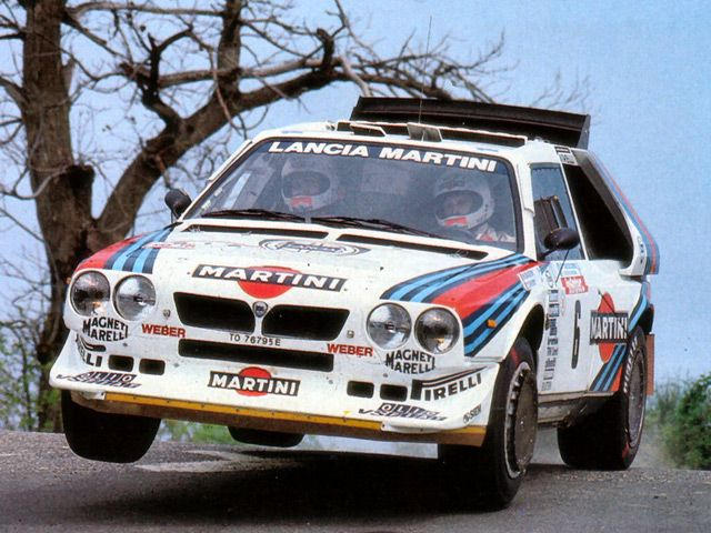 Lancia S4 Group B Rally Cars