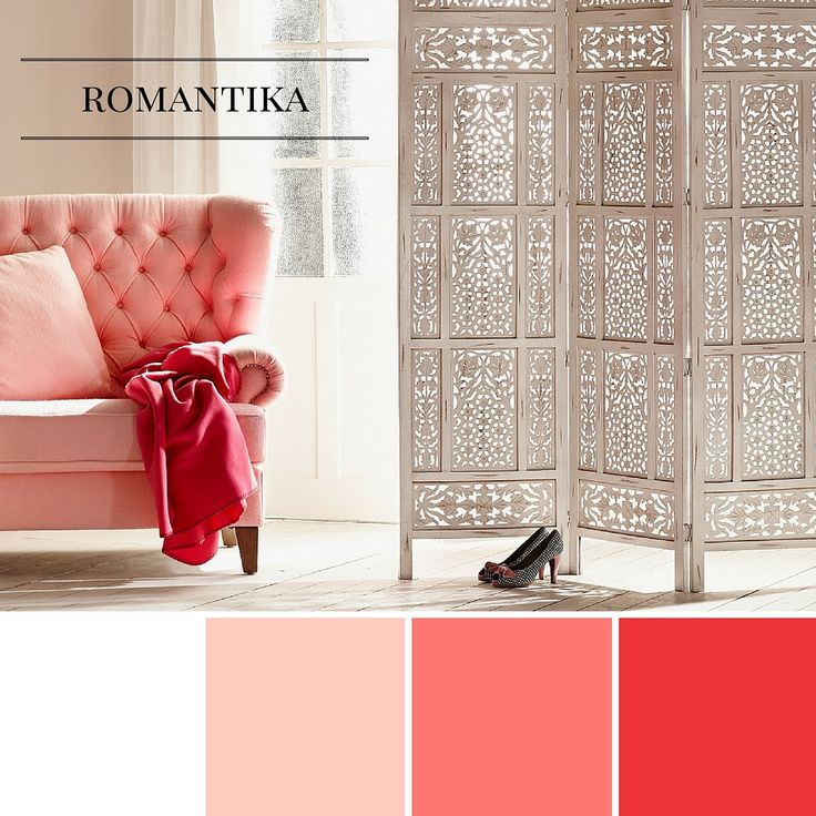 Romantika - Romantic style, interior design, furniture