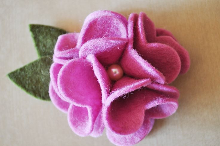 Egyedi, kézzel készített filc virágok #pinkpastelhu #filcvirágok #feltflowers #handmade