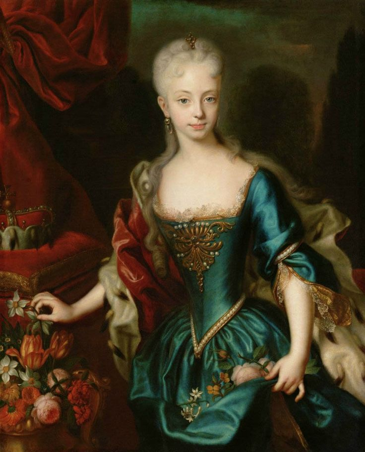 Andreas Möller (Danish, 1684 - ca. 1762), Maria Theresa as a Child, ca. 1727. Oil on canvas. Kunsthistorisches Museum, Vienna