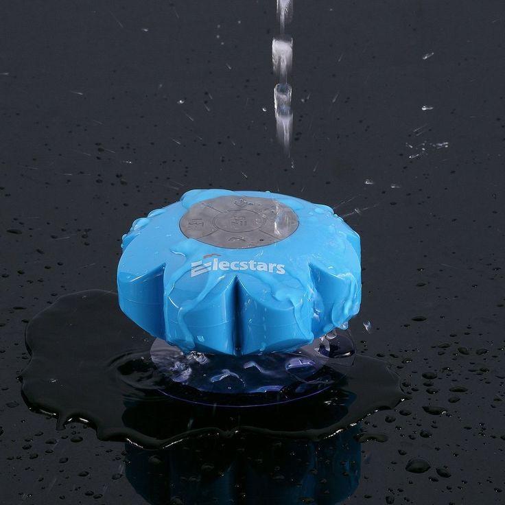 Shower Speaker Elecstars Water Resistant Bluetooth Waterproof Speaker Best Gift #ElecStars