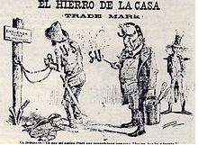 Cartoon protesting Platt Amendment
