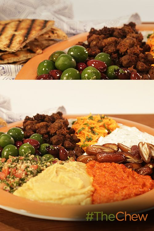 This Mediterranean Platter Is A Perfect Appetizer Or Snack