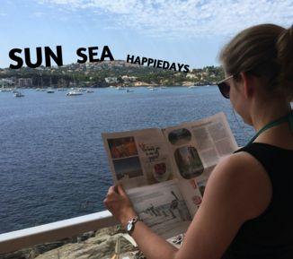 Je kan alle foto's en herinneringen van je reis bundelen in een gepersonaliseerde krant om dat zalige vakantiegevoel terug te krijgen.