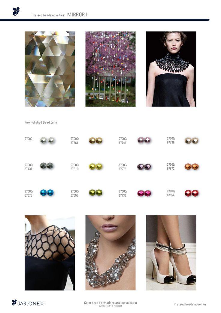 Jablonex® Beads - Mirror I.