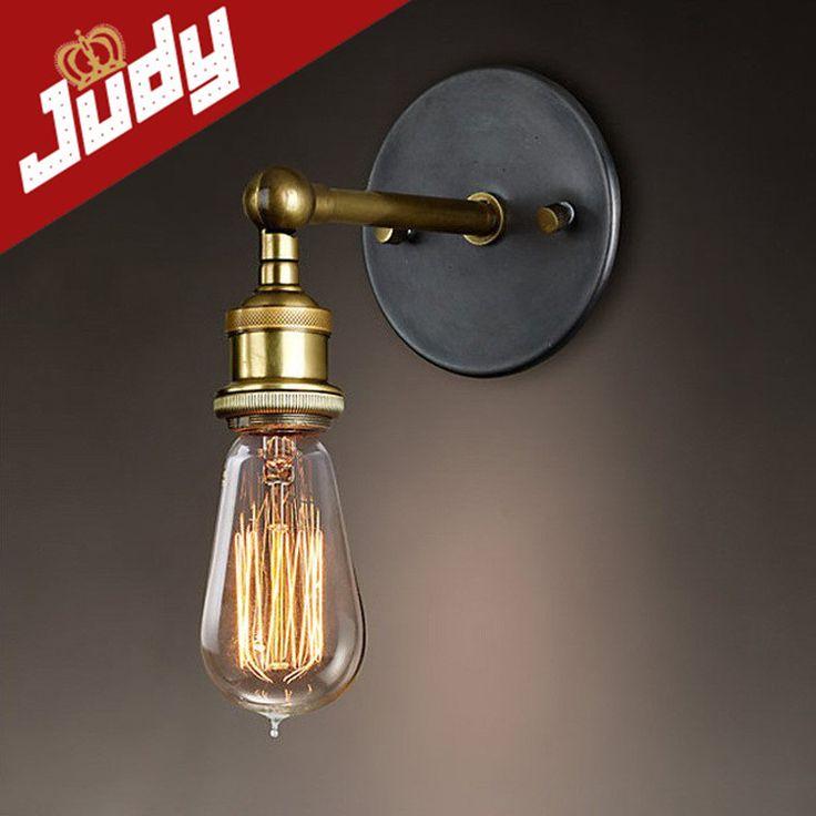 Goedkope Judy Verlichting Industriële Vintage Wandlamp Retro Klassieke Antieke Licht E26/E27 Voor Lezen Kunstwerk, koop Kwaliteit wandlampen rechtstreeks van Leveranciers van China:    klik de foto en view meer Edison lampen            deedison lampvan de muur/hanglampen zijn niet inbegrepen.  kan je