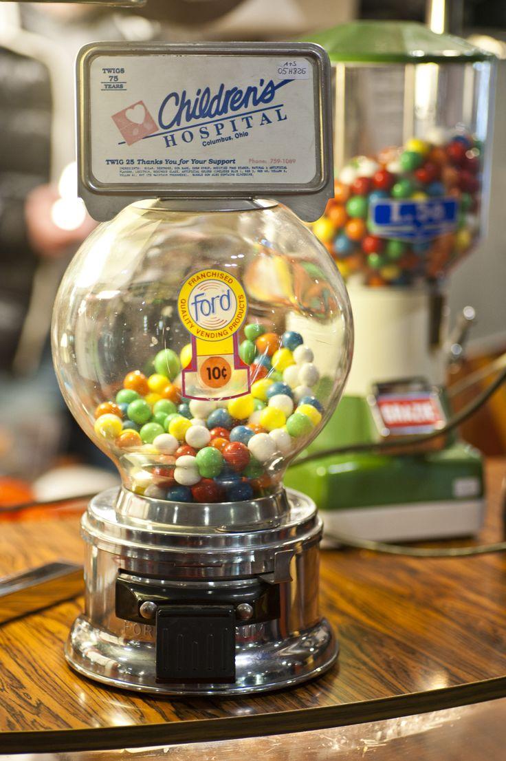 #Vintage candy dispenser