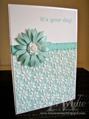Stampin' Up! Australia - Tina White - Time to Ink Up - Independent Stampin' Up! Demonstrator: Petals a Plenty