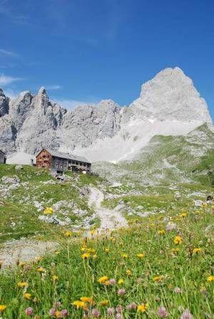 Das KARWENDEL - TIROL URLAUB und BAYERN URLAUB im Karwendelgebirge, Urlaub Karwendel Gebirge