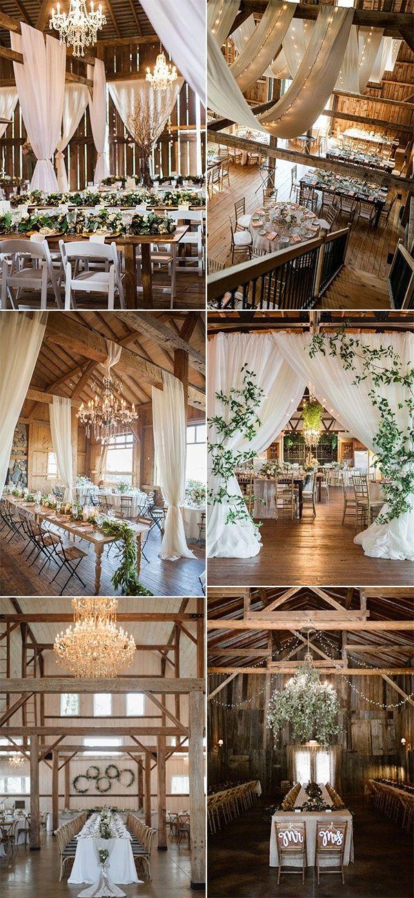30 Chic Rustic Barn Wedding Reception Ideas Emmalovesweddings Barn Wedding Reception Rustic Barn Wedding Reception Rustic Barn Wedding