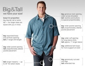 clothes for large men
