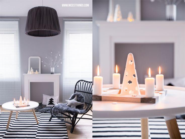 Wohnzimmer Deko Weihnachten. die besten 25+ schwarz weiß ideen auf ...