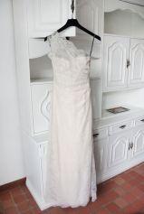 Robe de mariée MONIQUE LHUILLIER Rose, fuschia, vieux rose