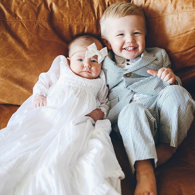 Proudest big brother! Pictures from my angel's blessing day on my blog today! ❤️❤️❤️❤️