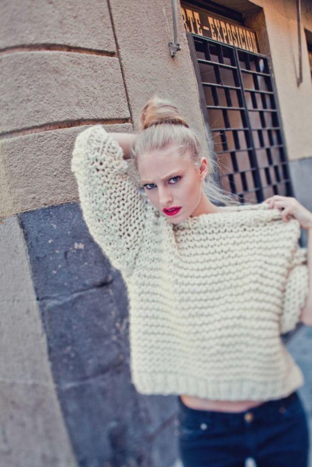 "Other – ""Nolita Sweater"" knitting kit – a unique product by weareknitters on DaWanda"