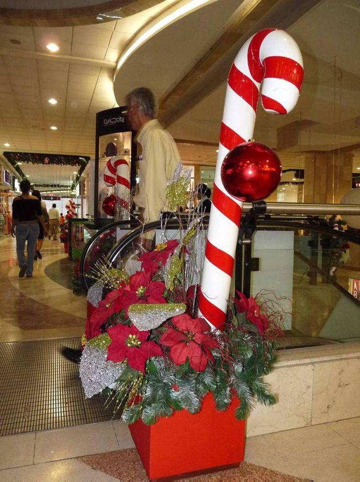 Resultado de imagen para decoracion navidad 2017 centros for Adornos navidenos para oficina