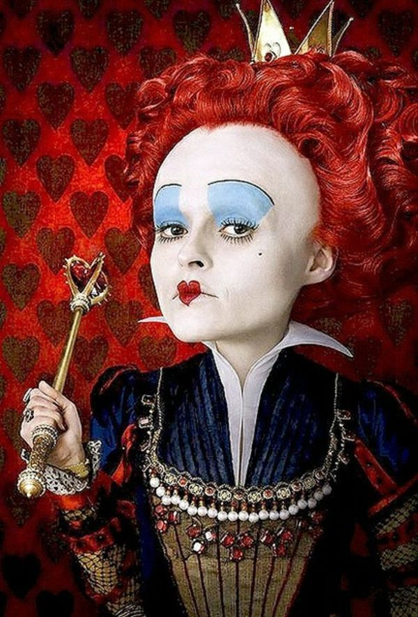 Alice im Wunderland - die Königin (Halloween Diy Mask)
