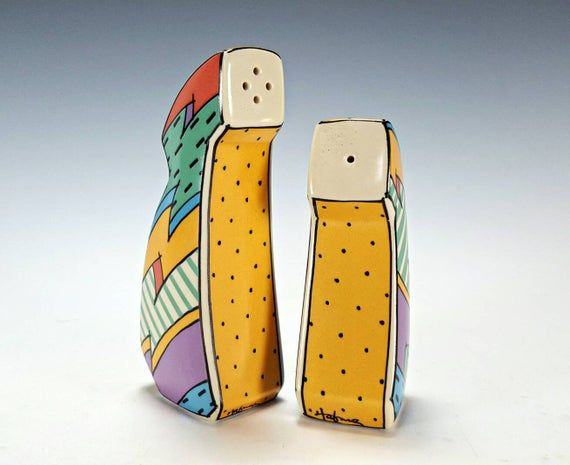 Flash One Rosenthal salt and Pepper Shakers