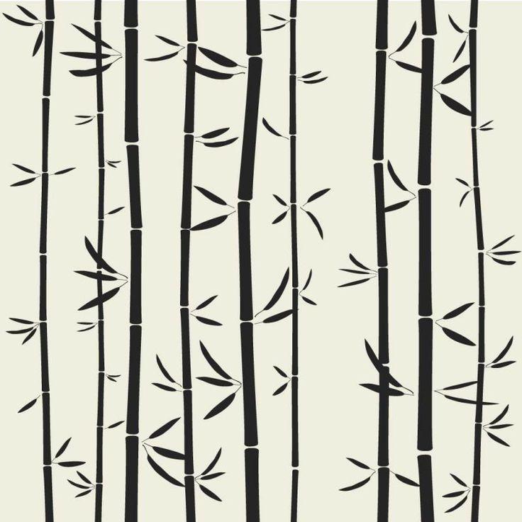 potištěné sklo DesignGlas - motiv bambus