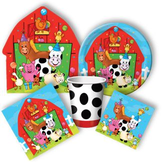17 best images about farm party ideas on pinterest farm for Animal party decoration ideas