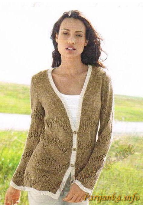 201 Best Cardigans Jackets Images On Pinterest Knitting Stitches