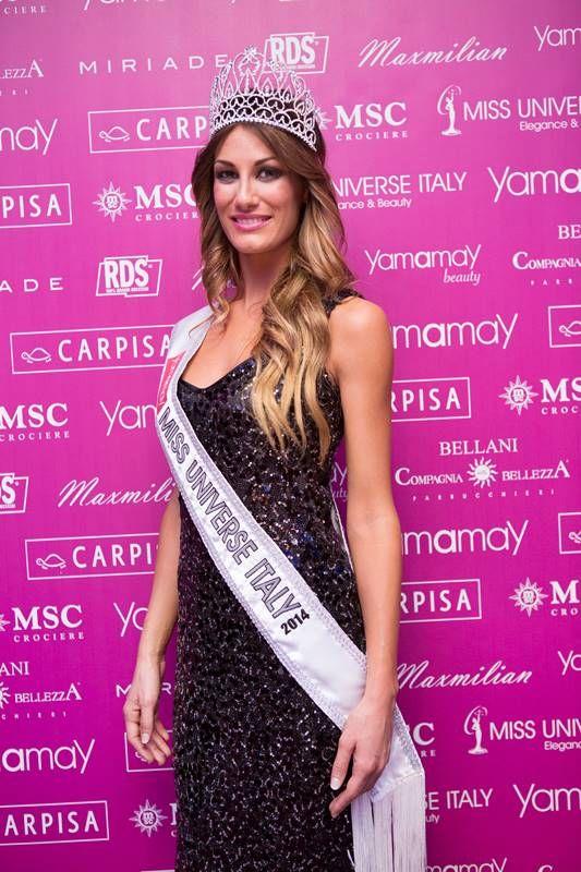 Eletta su MSC Splendida la rappresentante italiana di Miss Universo 2014