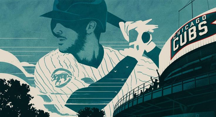 Chicago Cubs World Series appearance commemorated by artists