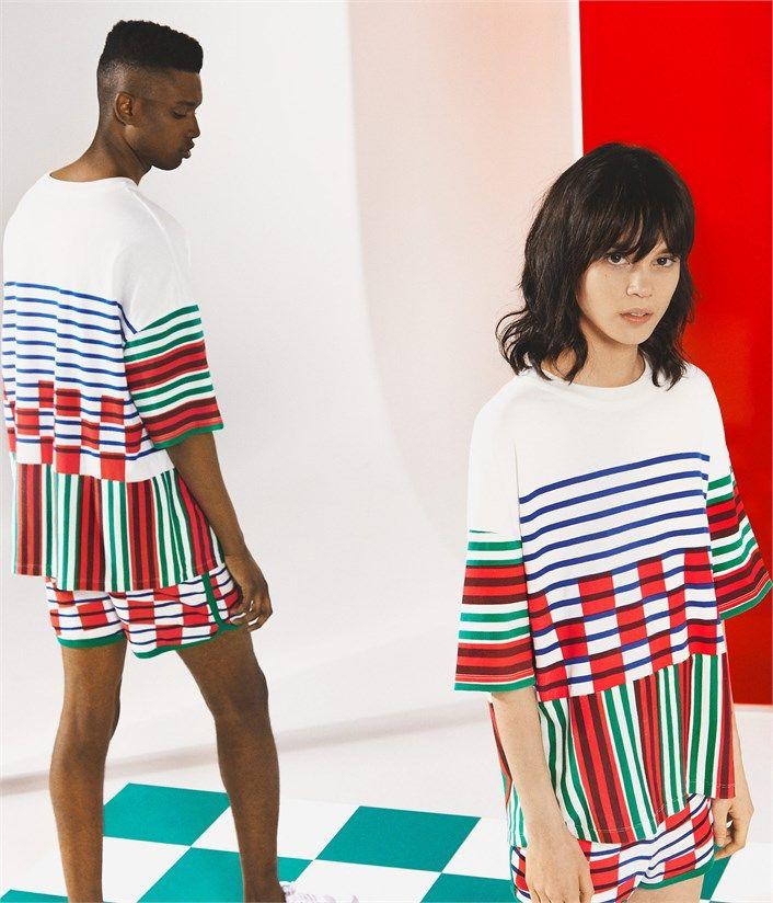 T-shirt unisexe rayé et imprimé Petit Bateau x Wataru Tominaga blanc Lait / bleu Surf. Retrouvez notre gamme de vêtements et sous-vêtements pour bébé, enfant, mode femme et homme.