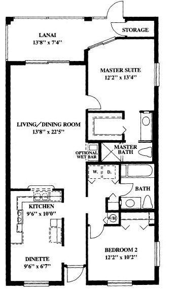 general condo floor plans