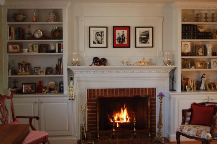 Best 25+ Brick Fireplace Mantles Ideas On Pinterest