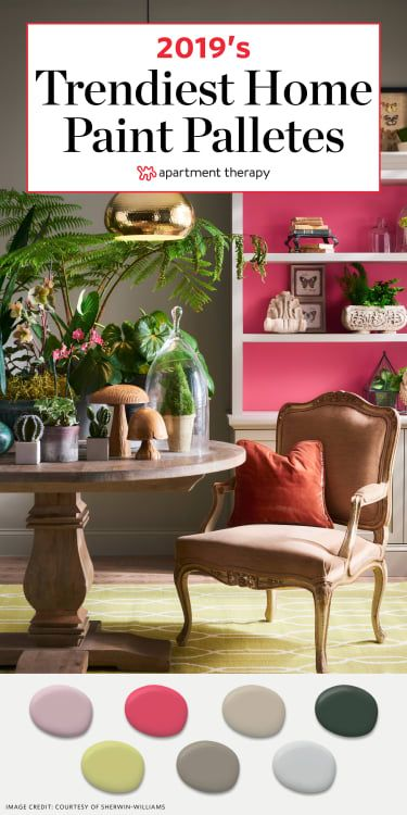 Sherwin Williams Most Por Color Trends For 2019 Apartment Therapy
