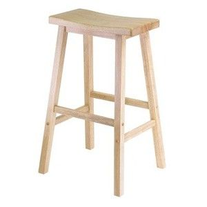 "29"" Single Natural Seat Stool"