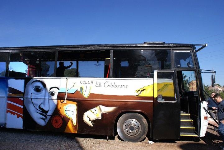 Carroza Carnaval 4– Miró y Dalí