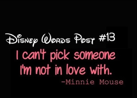 I love Minnie Mouse and this quote