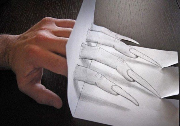 Amazing 3-D DRAWINGS