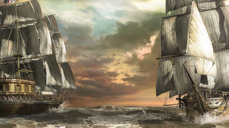 Yelkenli gemiler, korsan gemileri