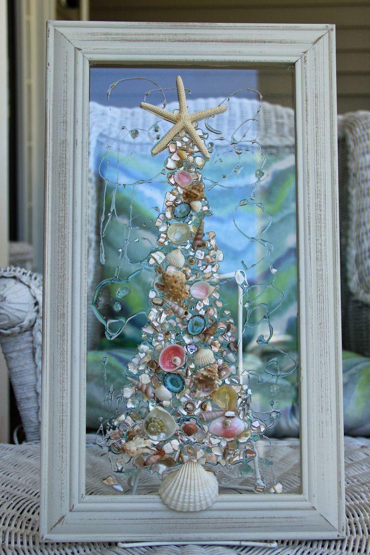 25 Best Beach Christmas Trees Ideas On Pinterest