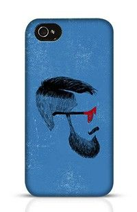 Beard Apple iPhone 4 Phone Case