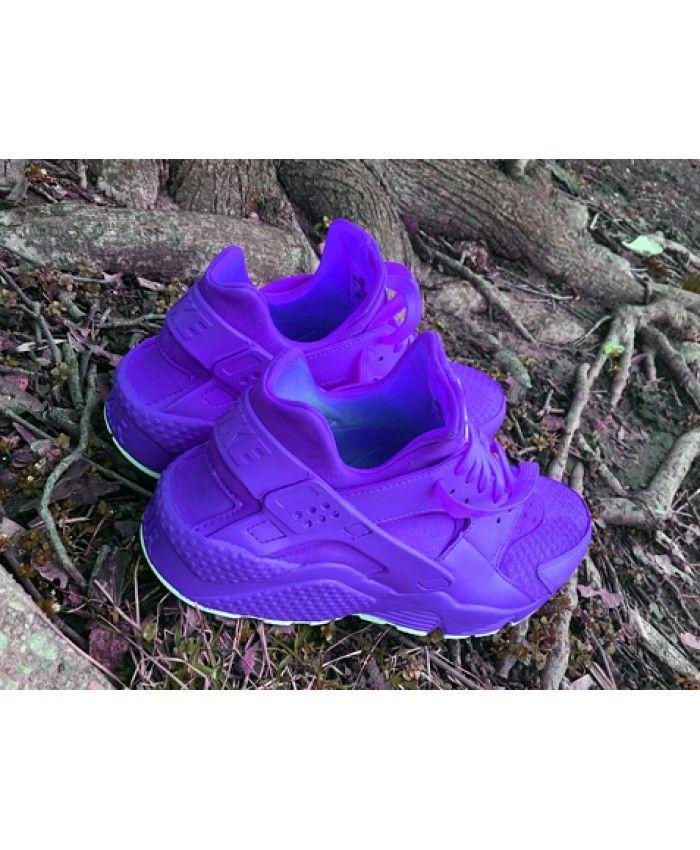 Nike Air Huarache All Purple Trainer