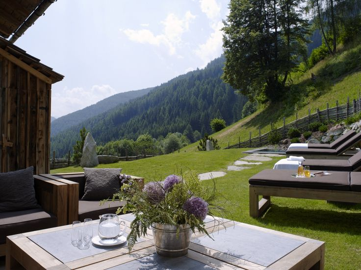 Mountain Lodge San Lorenzo in the Dolomites, Italy - White Blancmange