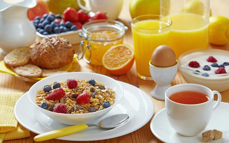 Breakfast to start off your day♡