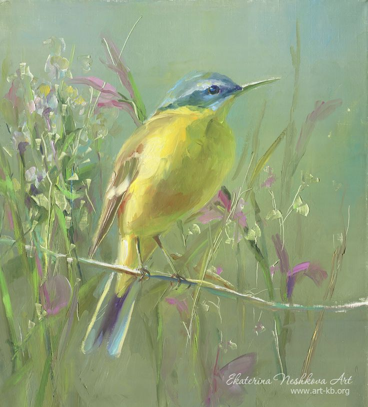 Ekaterina Neshkova Art, bird