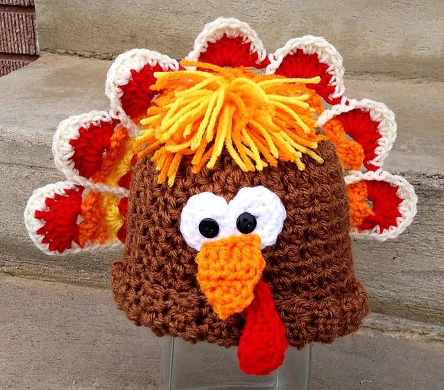 134 best Thanksgiving Crochet images on Pinterest | Thanksgiving ...