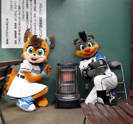 Polly and B.B (Hokkaido Nippon-Ham Fighters)