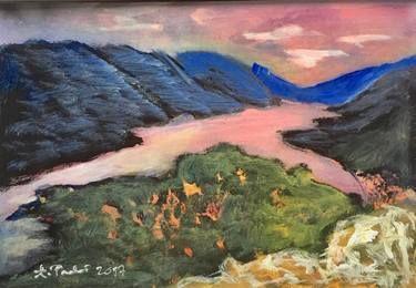 """Saatchi Art Artist Agata Padol; Painting, """"North Cape 4"""" #art"""